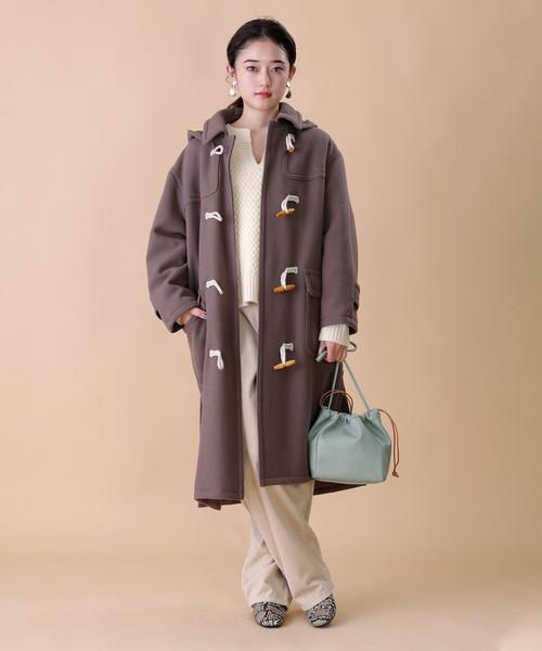【北海道】4月に最適な服装:パンツコーデ6