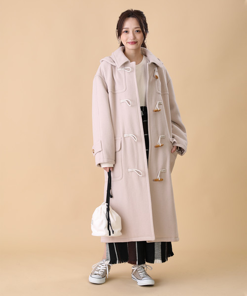 【北海道】4月に最適な服装:スカートコーデ5