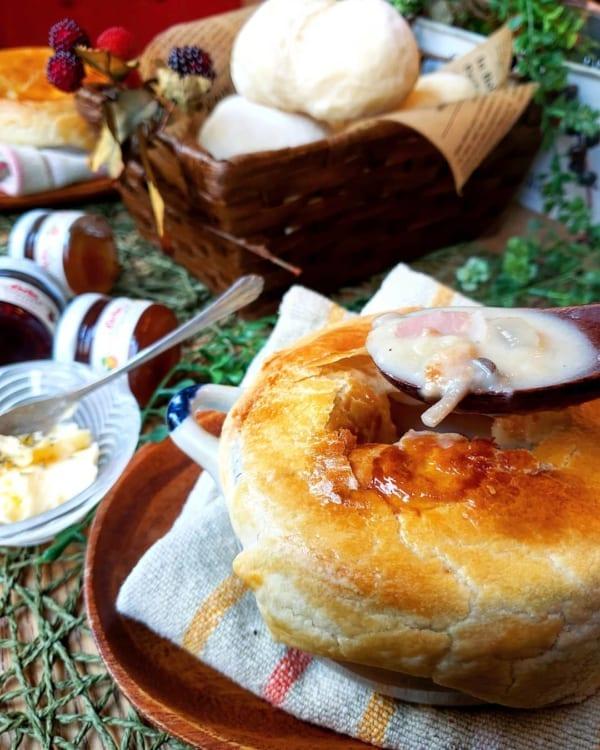 ハヤシライスにおすすめの付け合わせレシピ《スープ》3