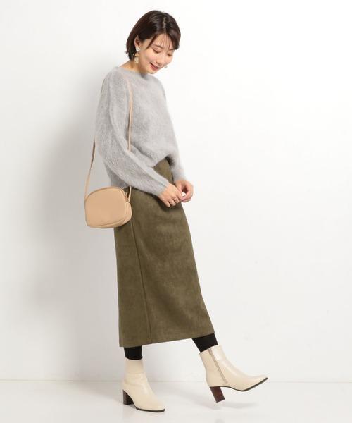 [archives] スエードタイトスカート