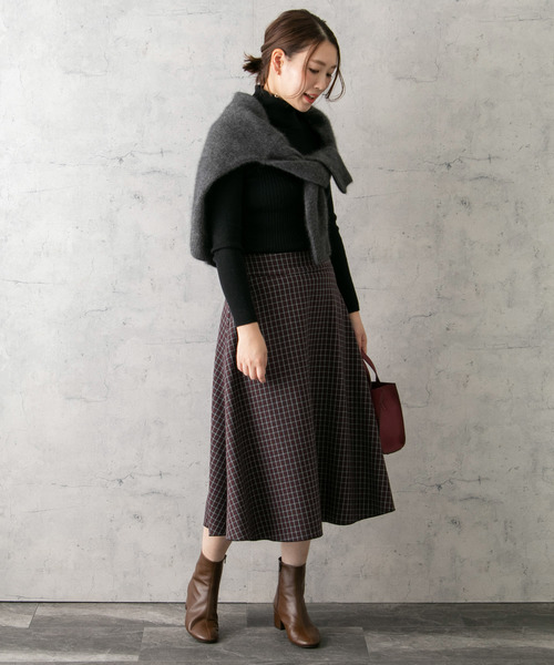 [URBAN RESEARCH ROSSO WOMEN] リバーシブルミディスカート