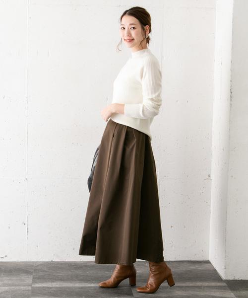 [URBAN RESEARCH ROSSO WOMEN] マキシフレアースカート