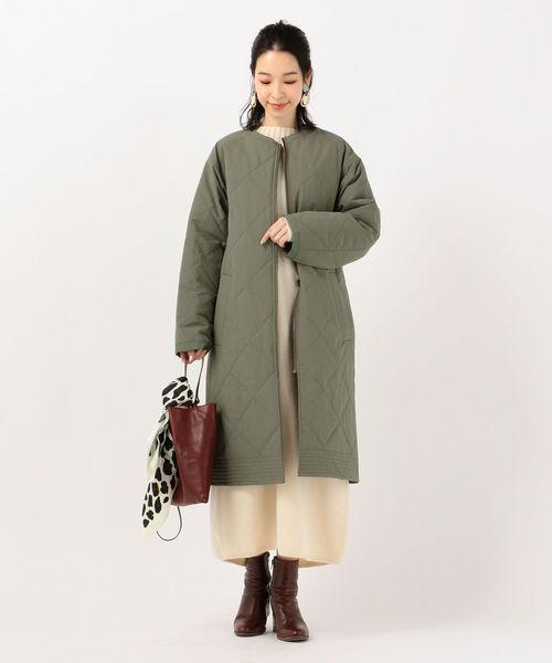 【軽井沢】4月に最適な服装:ワンピースコーデ2