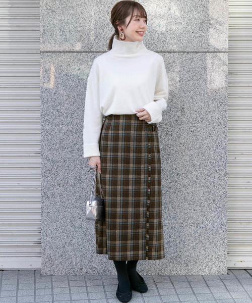 [URBAN RESEARCH] チェックキルトスカート