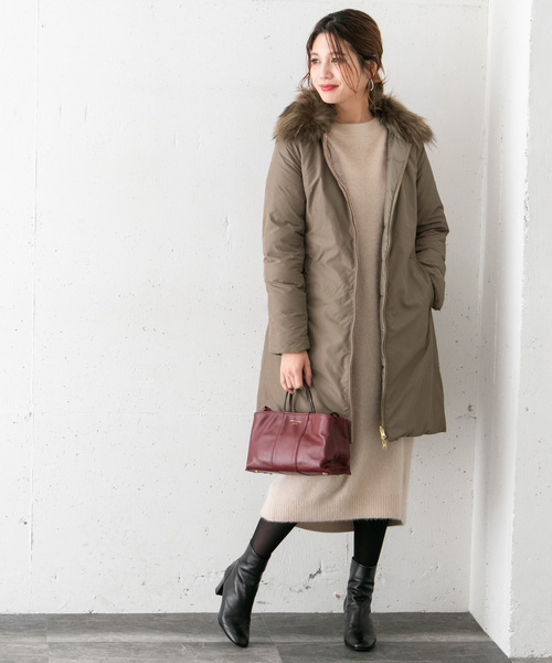 [URBAN RESEARCH ROSSO WOMEN] リバーシブルダウン