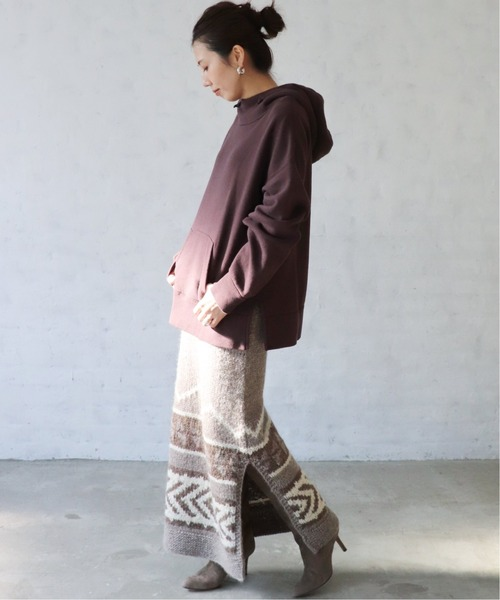 [Plage] 【KANATA/カナタ 】SHETLAND WOOL スカート◆