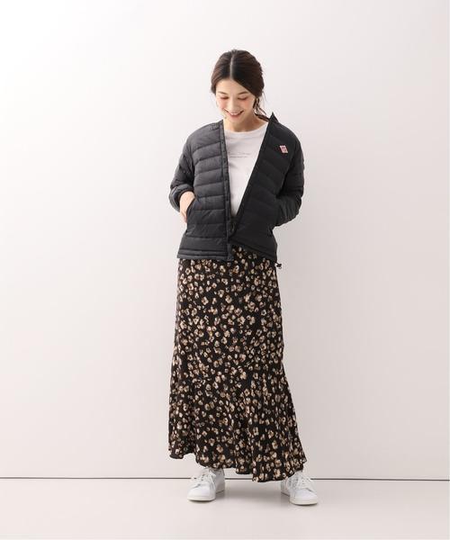 【軽井沢】4月に最適な服装:スカートコーデ