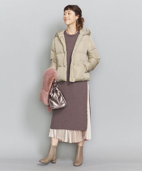 【軽井沢】4月に最適な服装:ワンピースコーデ4