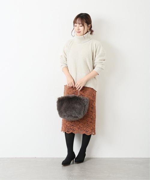 [La TOTALITE] レースタイトスカート◆