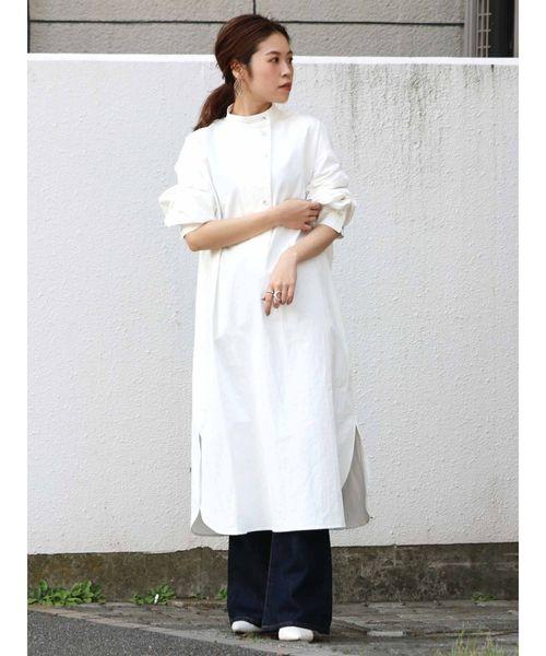 [Ungrid] ドレスシャツワンピース