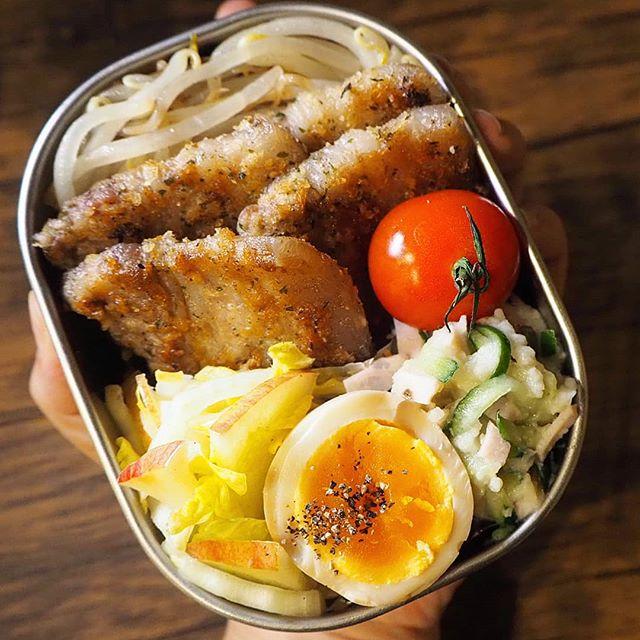 豚バラのお弁当レシピ《焼き物》2