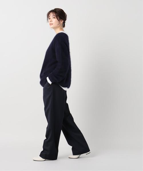 [Plage] Fur Vネック プルオーバー◆