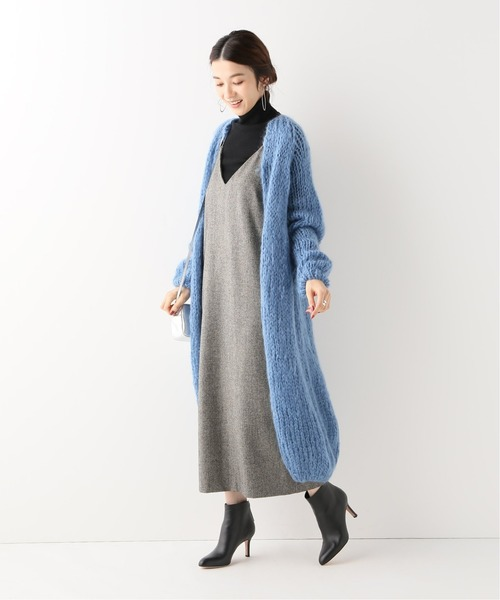 [IENA] 【Maiami/マイアミ】Mohair Slim コート◆