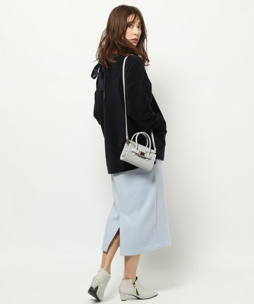 [BARNYARDSTORM] BARNYARDSTORM / フリースZIPタイトスカート