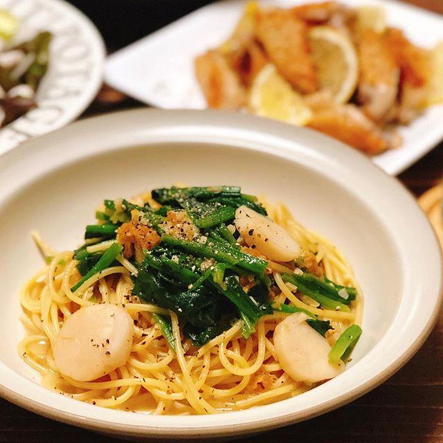 ガーリックシュリンプの付け合わせレシピ《ご飯・麺》5