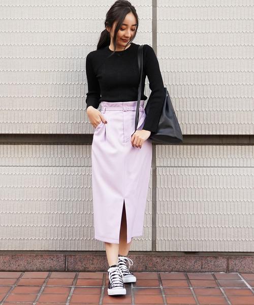 [FREE'S MART] ◆ナローベルト付きタイトスカート