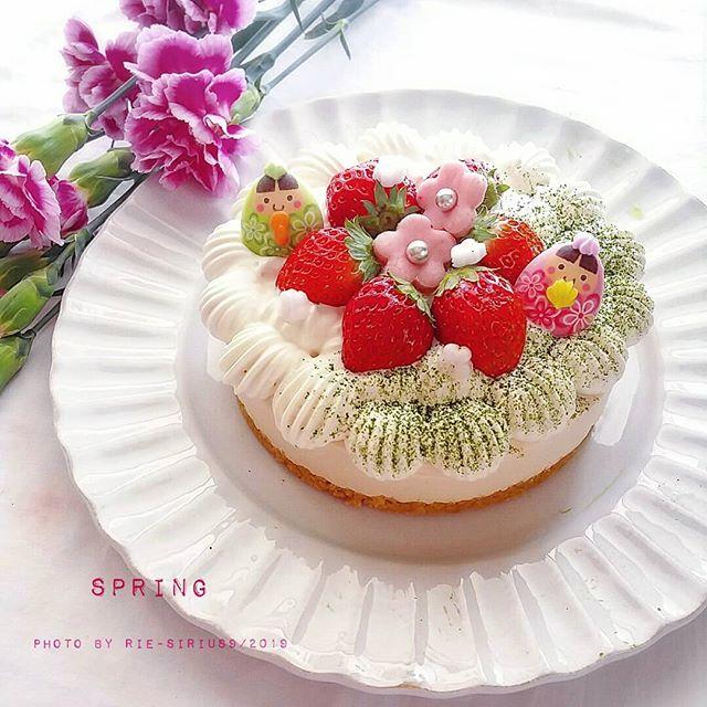 ひな祭りに人気のデザートレシピ《ケーキ》