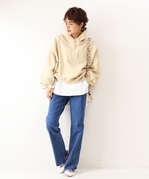[Spick & Span] 【Traditional Weatherwear】別注パフスリーブスウェット◆
