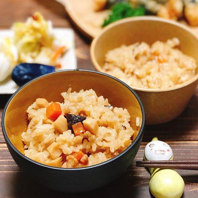 ガーリックシュリンプの付け合わせレシピ《ご飯・麺》8