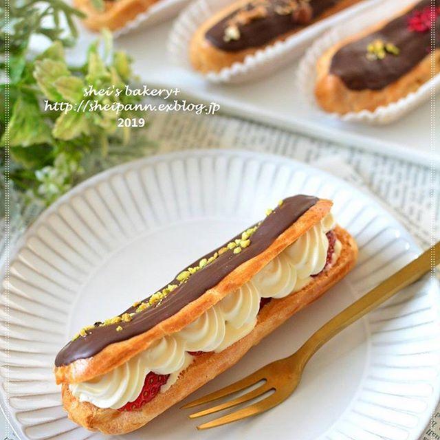 ホワイトデーにおすすめの手作りチョコエクレア