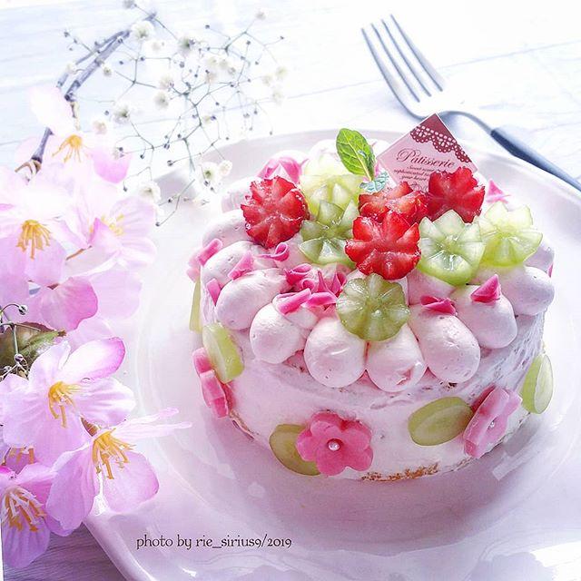 ひな祭りに人気のデザートレシピ《ケーキ》5