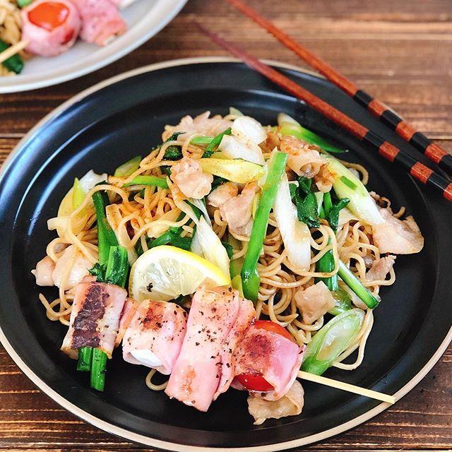 節分に子供が喜ぶ人気レシピ《麺・ご飯》3