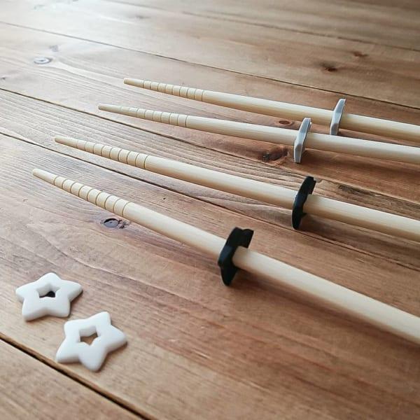 星型が可愛いセリアのシリコン菜箸スタンド