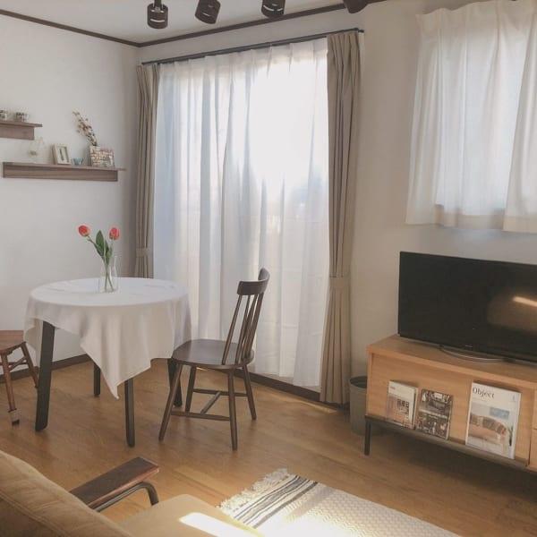 狭い間取りでも快適な二人暮らしの部屋