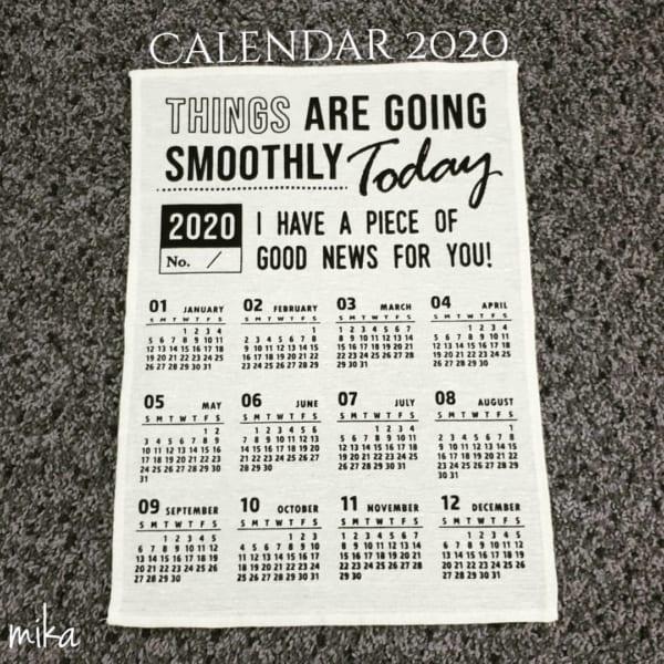 100均 カレンダー5