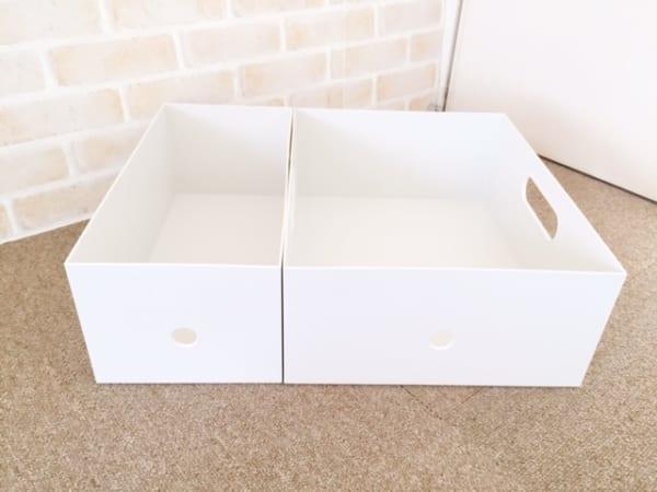 無印良品のファイルボックス1/2ワイド3