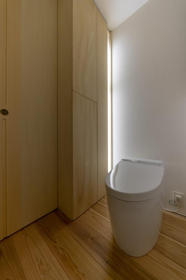 広く見せるアイデア「トイレ」