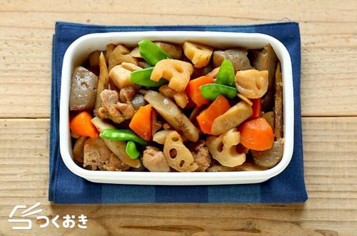 根菜たっぷり筑前煮