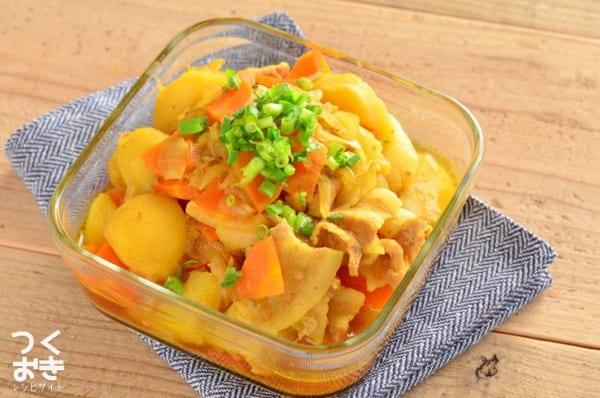 豚バラのお弁当レシピ《煮物》5
