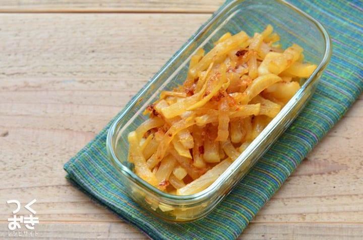 おすすめの副菜に!人気の大根と生姜のおかか炒め