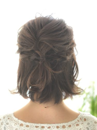 入園式におすすめのママの髪型《ボブ》6