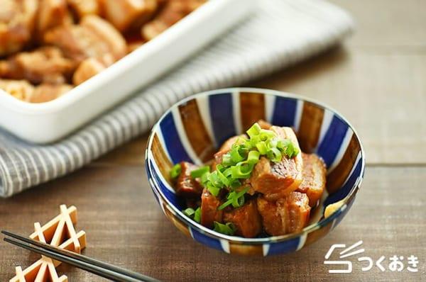 豚バラのお弁当レシピ《煮物》2