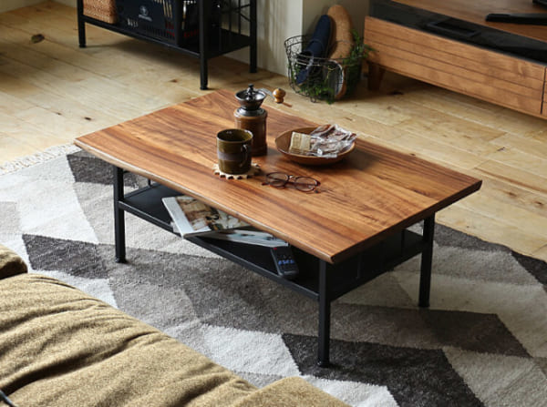 Cashe(カシュ)のリビングテーブル