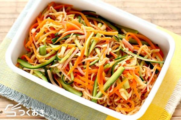 シュウマイの付け合わせ《野菜の副菜》4