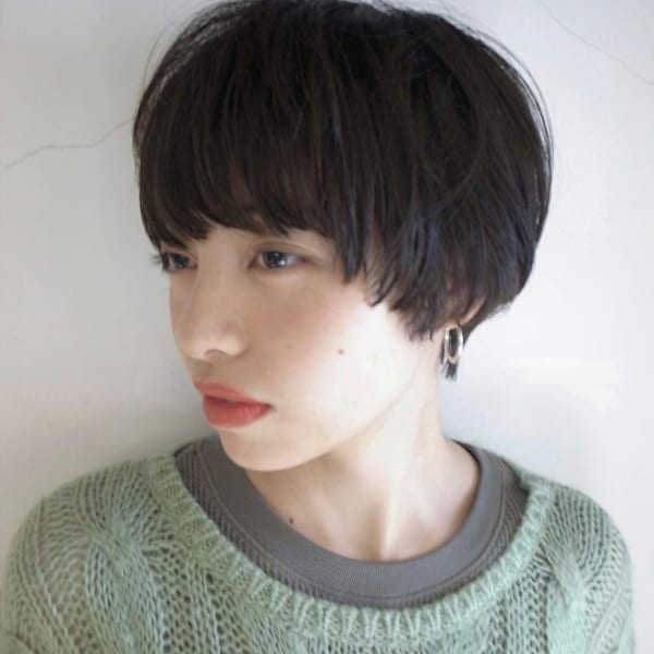 入園式の髪型《ショート×黒髪・暗髪》3