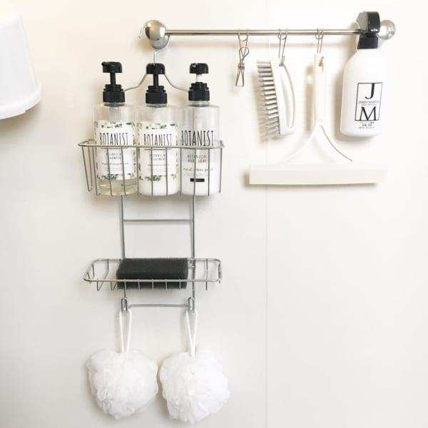 バスルームの収納アイデア15