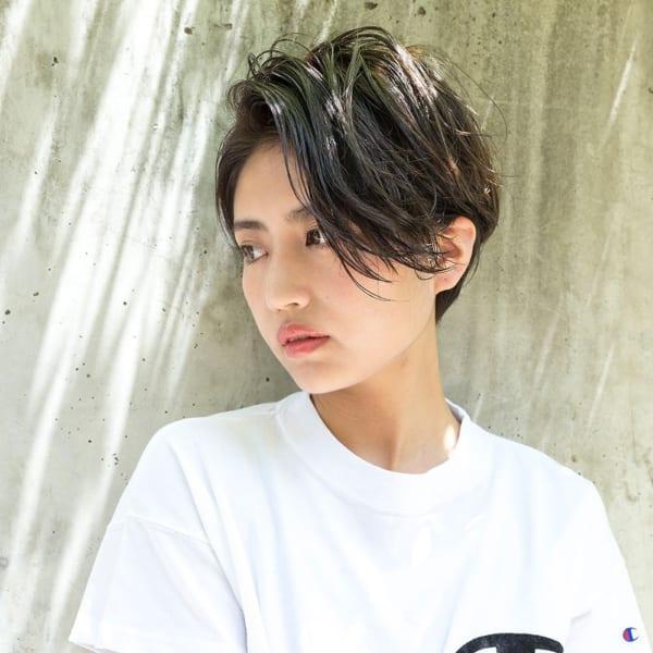 入園式の髪型《ショート×黒髪・暗髪》5