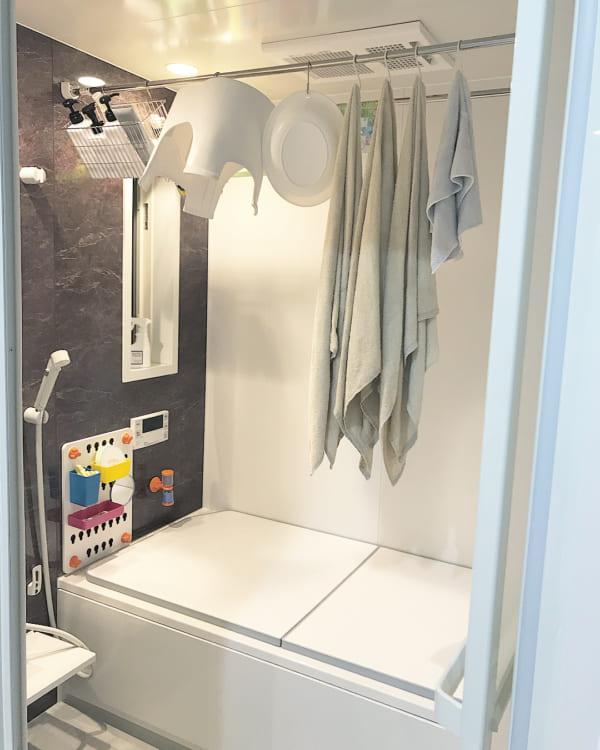 バスルームの収納アイデア17