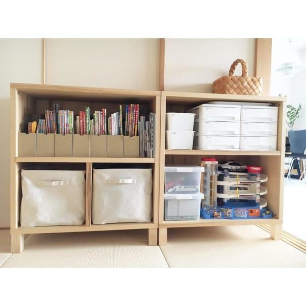 子ども部屋のおしゃれな整理収納アイディア14