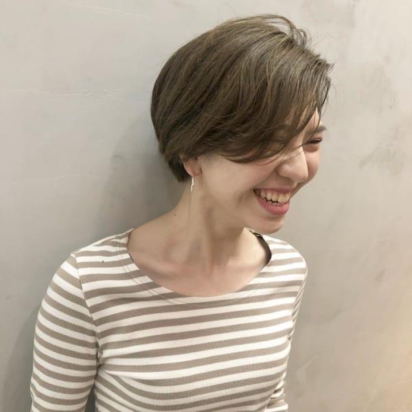 入園式の髪型《ショート×ヘアカラー》4