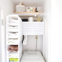 洗面所のタオル収納ってどうしてる?達人に学ぶおしゃれな整理アイデア実例集
