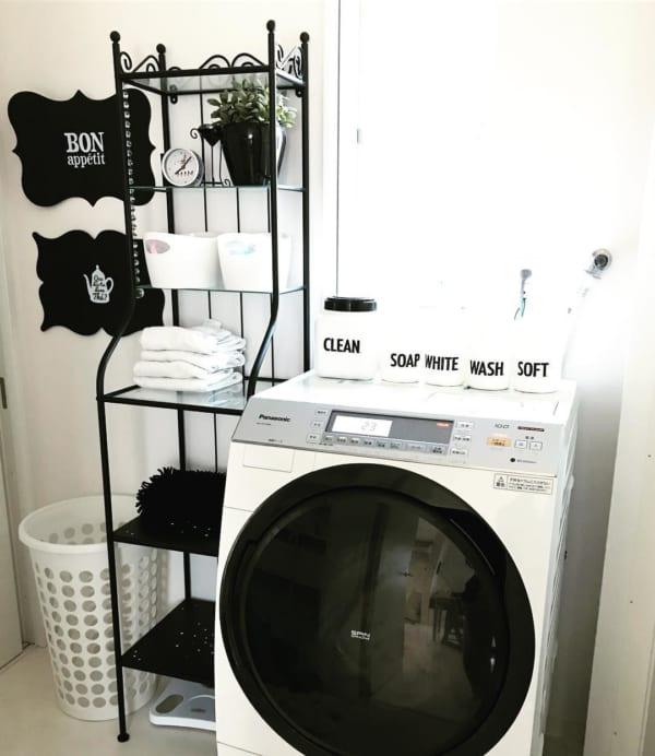 IKEAのラックで洗面所のタオル収納