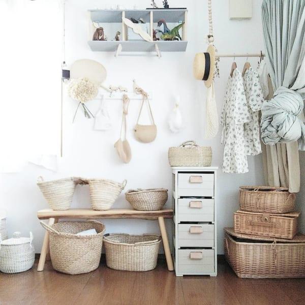 子ども部屋のおしゃれな整理収納アイディア16