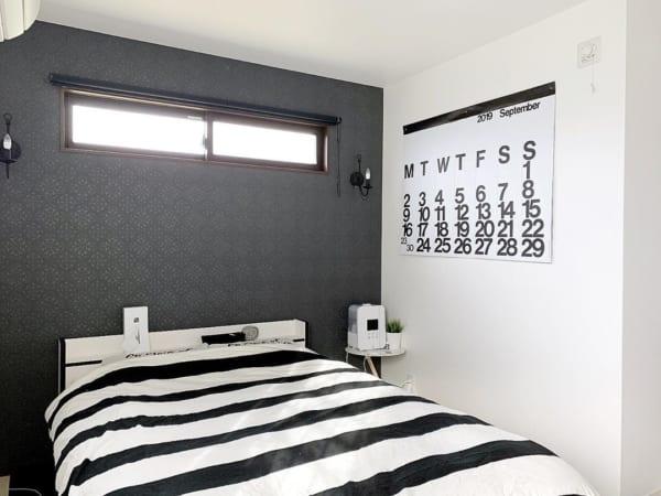モノトーンのお部屋作り《寝室インテリア》7
