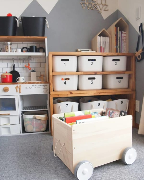 子ども部屋のおしゃれな整理収納アイディア18