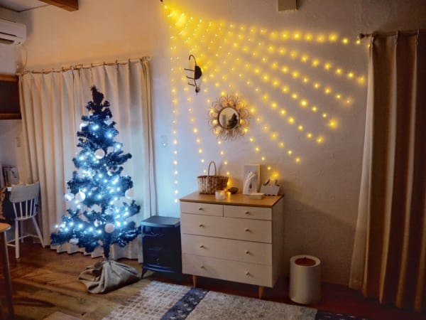 電飾で心ときめくクリスマスディスプレイに3